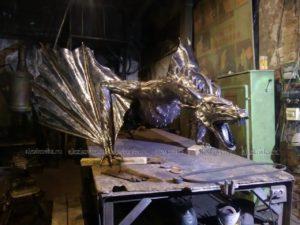 Кованая скульптура