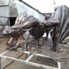 Кованый дракон, Кованая скульптура