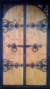 Кованые ворота, двери, калитки