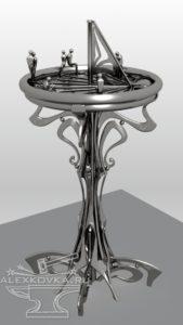 Питьевой фонтанчик Эскиз
