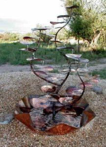 декоративные садовые фонтаны